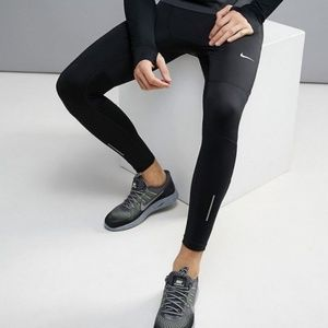 NWOT Men's Nike dri fit runner leggings size MED